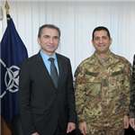 COMKFOR meets with the Minister of Defence of the Republic of Slovenia