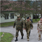 NATO HQ Sarajevo Deputy Commander visits BiH Armed Forces prospective locations