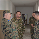 DCOM visits Armed Forces BiH Training and Doctrine Command
