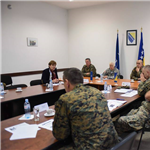 NATO COM visits BiH Armed Forces Support Commande in Banja Luka