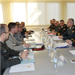 JFCNP Military Partnership Branch delegation takes part in Expert Staff Meeting in Montenegro