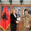 KFOR Commander meets Albanian Minister of Defense