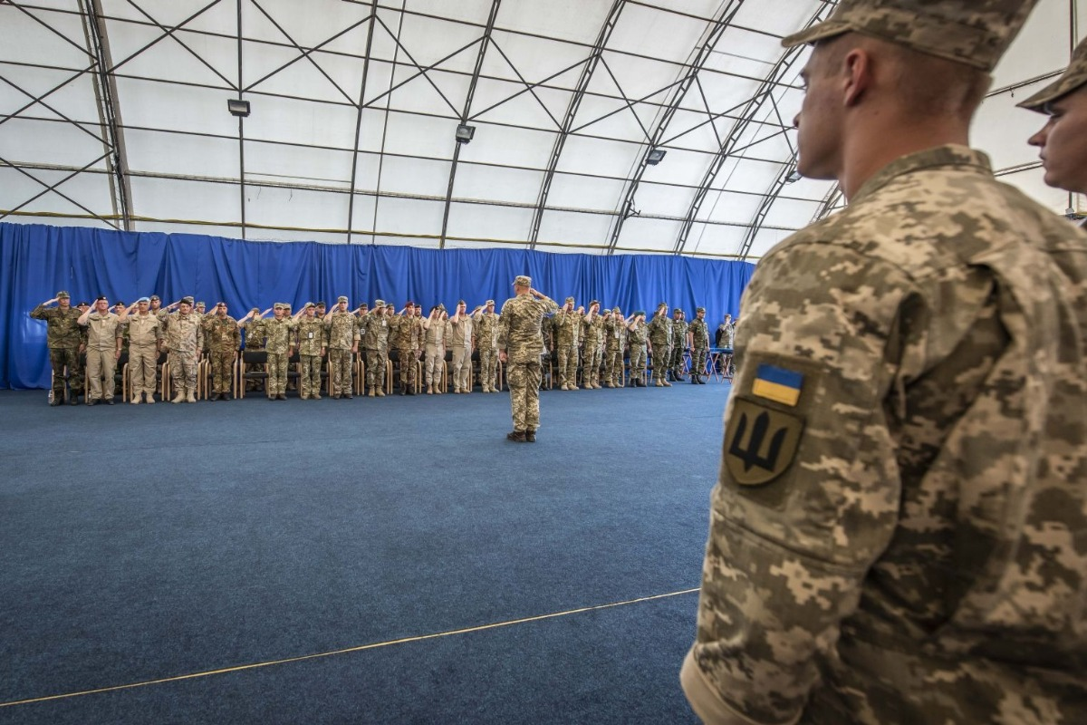 KFOR | Ukrainian Change of Command